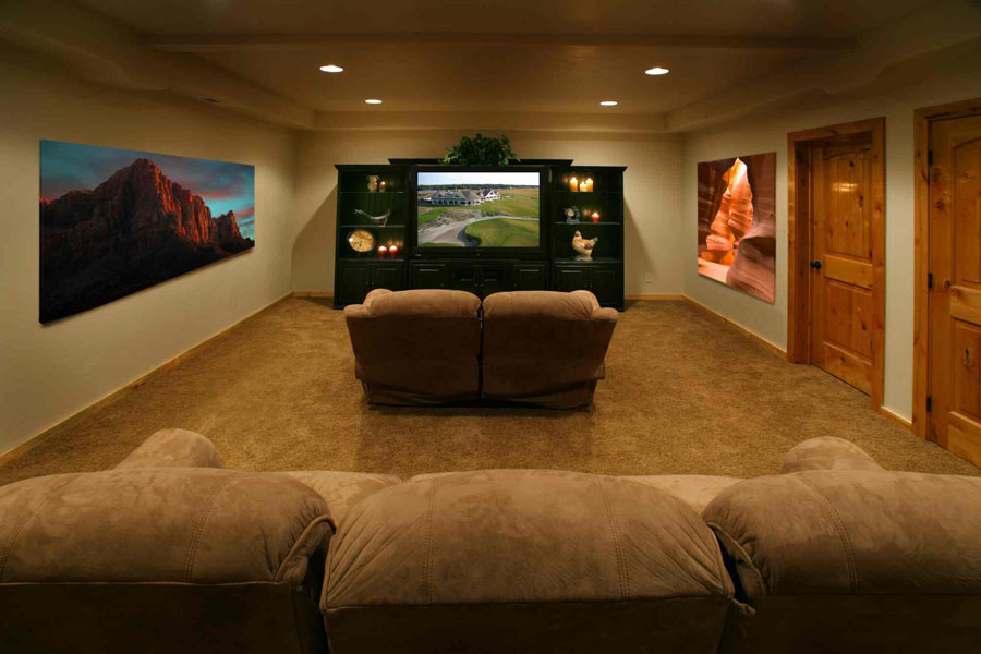 Misc Post Pics Of Your T V Setup Media Room Need